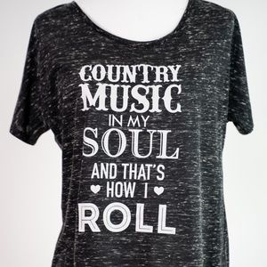 Country Music in my Soul Short Sleeve Shirt